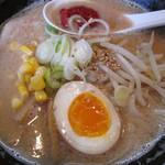 麺屋 暁 - こってり辛味噌大盛り700円