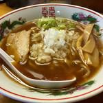 華みち - 中華そば 太麺 ¥600