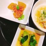 アルシード - 料理写真:ランチ前菜