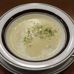 豊後牛ステーキの店 そむり 鉄板焼 - コーンスープ