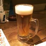 ここら屋 - 生ビール