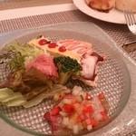 トレ・バンビーニ - ランチ前菜