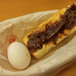 神戸珈琲倶楽部 - モーニング(小倉トースト)
