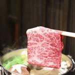 Nihonriyourikisshou - 近江牛しゃぶしゃぶ「近江牛えらべる会席」献立 9504円