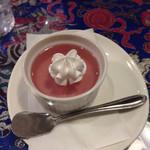 インドアジアダイニング - 日替わりデザート(いちごゼリー)サイゴンセット、お子さまセット