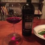 チルカ - 赤ワインボトルで♪