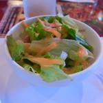 チャイカ - トロイカ・セットのサラダ