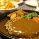 エムツゥー - 料理写真:ハンバーグステーキセット(デミグラスソース)