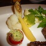 ステーキダイニング アイリス - 新鮮野菜