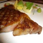 ステーキダイニング アイリス - 塩味も美味しい