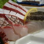 味処 千両 - 料理写真:刺身3点盛り