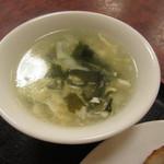 一品香 - スープ