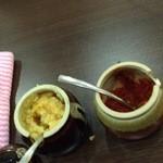 ホープ軒 - ニンニクと唐辛子味噌