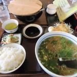 大福手打うどん - 料理写真:日替わりうどん定食680円の蕎麦バージョン710円です。