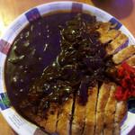 カウンタック - 料理写真:Wカツカレー大盛り1600円!