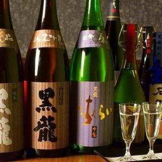 【福井の地酒】二左衛門や石田屋なども稀少酒も取り揃え