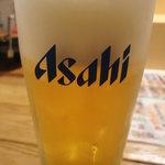 魚河岸料理 うおぎん - 生ビール
