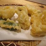 魚河岸料理 うおぎん - 穴子天ぷら