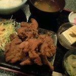 とりと - 鶏の唐揚げ定食