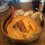 46142510 - H28.1月 北海道味噌の味噌漬け炙りチャーシュー麺♡