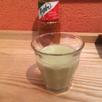Mexican Dining AVOCADO - アボカドとグレープフルーツの一口ジュース。ランチについてきます。