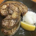 46143870 - マグロのど肉の塩焼き