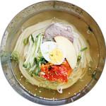 大阪鶴橋冷麺(カルビ付)