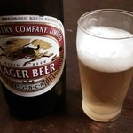 柳橋 こだに - (2016.1.5)瓶ビール