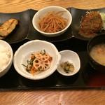 46145502 - TocToc定食(きんぴらごぼうチョイス)