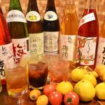 東風 - 人気なのはもちろん変わった梅酒果実酒なども沢山取り揃えております1