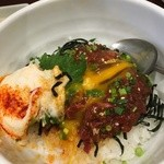 wagyuuyakinikubarukuramoto - 和牛ローストユッケ丼
