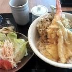 自家打そば処 恵蕉庵 - 幌加内天丼¥880
