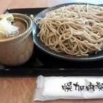 自家打そば処 恵蕉庵 - もり¥570+大盛¥150