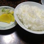 かね吉 - プレミアムオイル焼 松(¥11500)→ご飯・香の物