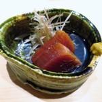 くろ﨑 - 気仙沼の鰹の漬け