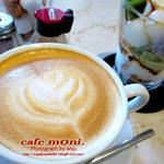 cafe moni. - カフェラテ