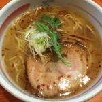 46155219 - 天然塩ラーメン(700円)