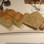 リストランテ サクラ - 2015年クリスマスディナー       自家製のパン