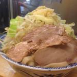 46155997 - ラーメン大+野菜マシ