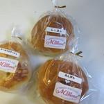 しめのすけ - 料理写真:パンは100円均一だったんで3個買って帰ってみました。
