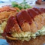 パタタ食堂 - ボリュームもたっぷりの「長崎名物トルコライス (1000円)」