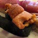 つきぢ神楽寿司 - うに、豪華にリピートー!