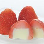 イチゴのアイス