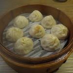 盛園絲瓜小籠湯包 - カニ味噌小龍包
