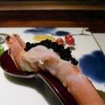 創作料理 宿 - 天国に一番近い島・ニューカレドニア産の海老ちゃんだよ~
