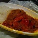 インドハラルレストランカーナカバブ - フレッシュトマトのキーマカレー弁当