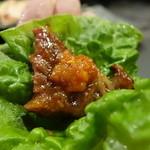焼肉 大淀屋 - ☆チシャ菜で巻き巻き♪☆