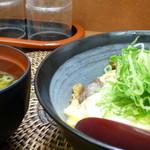 糀屋 - すじ玉mini お味噌汁付きで500円なり