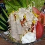 加賀屋 - 野菜サラダ