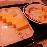 名代 富士そば - たまごやきとかつ煮